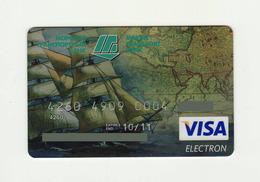 Marine Transport Bank UKRAINE Ship VISA Expired - Cartes De Crédit (expiration Min. 10 Ans)