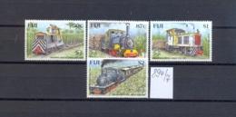 FIDSCHIINSELN -  894/7  Werkszüge  Kpl.postfr - Fidji (1970-...)
