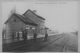 REPRODUCTION CORTENBOSCH SINT TRUIDEN LIMBURG LIMBOURG GARE STATION STATIE BAHNHOF - Belgique