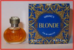 Gianni VERSACE : Blonde, Eau De Toilette, 5 Ml, Parfait état - Modern Miniatures (from 1961)