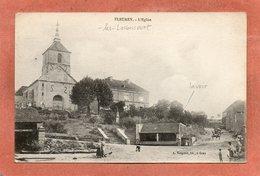 CPA - FLEUREY-les-LAVONCOURT (70) - Aspect Du Quartier De L'Eglise Et Du Lavoir Dans Les Années 20 - France