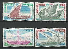 "Mali YT 271 à 274 "" Bateaux Anciens "" 1976 Neuf** - Mali (1959-...)"
