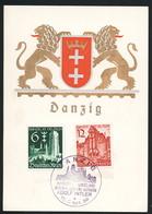 AK/C  Propaganda Danzig Ist Deutsch  Nazi  Gdansk  Ungel/uncirc. 1939    Erhaltung/Cond. 2  Nr. 00570 - Guerre 1939-45