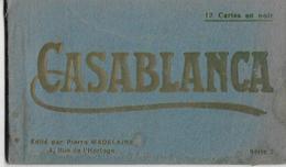 CASABLANCA (Maroc) - Carnet De 12 Cartes Postales - Quelques Scans - A Voir ! - Luoghi