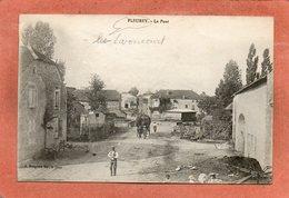 CPA - FLEUREY-les-LAVONCOURT (70) - Aspect Du Quartier Du Pont Dans Les Années 20 - France