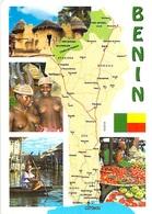 Afrique BENIN  Multi Vues  (nu Nue Seins Nus) Timbre Stamp  République Du Benin *PRIX FIXE - Benin