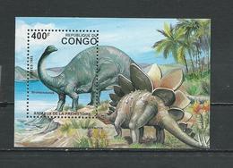 CONGO Scott 1048 Michel B124 (bloc) ** Cote 13,00 $ 1993 - Congo - Brazzaville