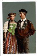 CPA - Cartes Postales -SUISSE -- Madchen Und Bursche Aus Unterwalden -S3833 - Costumes