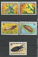 """Mali YT 282 à 286 """" Insectes """" 1977 Neuf** - Mali (1959-...)"""