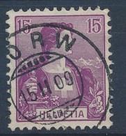 "HELVETIA - Mi Nr 100 - Cachet ""HORW"" - Cote 20,00 € - (ref. 213) - Schweiz"