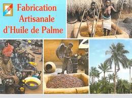 Afrique -BENIN  Fabrication Artisanale D'Huile De Palme (nu Nue Seins Nus )timbre Stamp République Togolaise  *PRIX FIXE - Cartes Postales