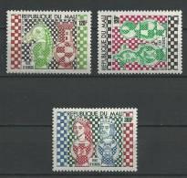 """Mali YT 288 à 290 """" Jeux D'echecs """" 1977 Neuf** - Mali (1959-...)"""