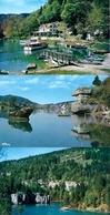 Villers Le Lac (25). Lot De 3 Cpm Bassins Du Doubs. Neuves. Envoi France 0,86 €. - France