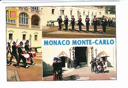 Principauté De MONACO, Compagnie Des Carabiniers De S.A.S Le Prince Souverain De Monaco, Photo Tisserandet, Ed.Molipor - Palais Princier