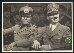 AK/CP Hitler Mussolini  Duce  Propaganda  Nazi  Ungel/uncirc. 1941    Erhaltung/Cond. 2-  Nr. 00573 - Weltkrieg 1939-45