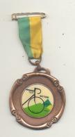Médaille Avec Ruban Et épingle - TILFF - BASTOGNE - TILFF 1990 - Cyclotourisme, Cycliste, Vélo (b241) - Cyclisme