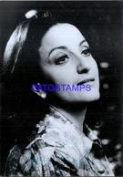 104477 ARTIST ANTIGONE SGOURDA SINGER OPERA AUTOGRAPH PHOTO NO POSTAL POSTCARD - Astronomie