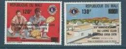 "Mali YT 305 & 306 "" Lions Club "" 1978 Neuf** - Mali (1959-...)"
