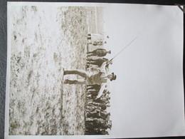 Photo De Lacet De Peche  Avant Guerre 1934 Dim 18cm X 24cm TB - Personnes Anonymes