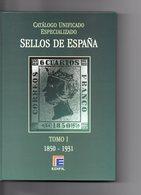 CATALOGO UNIFICADO SELLOS DE ESPANA - Libros, Revistas, Cómics