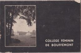95- BOUFFEMONT- Collège Féminin - Catalogue Et Caractéristique De L'établissement,discipline,tarifs... - Livres, BD, Revues