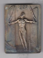 Gymnastic Plaque Paris 1937 France - 57 FETE Federale Internationale - Gymnastique
