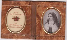 Livret  Religieux  Bois De  Sainte Therese De L'enfant Jesus - Religión & Esoterismo