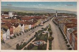 PRESOV, Panorama, Gel.um 1910, Gute Erhaltung, Abgel.Marke - Slowakei