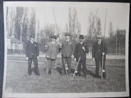 Photo Concours De Peche Avant Guerre Mars 1928 Dim 18cm X 24cm TB - Personnes Anonymes