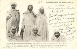 Algeria, Margueritte's Insurrection The Six Main Accused (1903) Postcard - Other