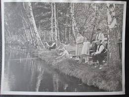 Photo Concours De Peche Avant Guerre 13 Mai 1934 Dim 18cm X 24cm TB - Personnes Anonymes