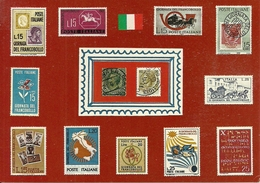 """Poste Italiane, Giornata Del Francobollo, Annullo """"la Filatelia Nella Scuola"""" 2004 - Poste & Facteurs"""