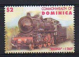 DOMINICA. TRAINS. MNH (2R0303) - Trains