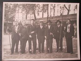 Photo Concours De Peche De Meaux Avant Guerre Mai 1934 Dim 18cm X 24cm TB - Personnes Anonymes