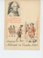 TIMBRES - FÉDÉRATION DES SOCIÉTÉS PHILATELIQUES FRANÇAISES - JOURNÉE DU TIMBRE 1949 - Dessin De RAOUL SERRES - Timbres (représentations)