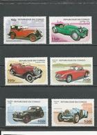 CONGO Scott 1089-1094 Yvert 1026A-1026F (6) ** Cote 8,20 $ 1996 - Congo - Brazzaville