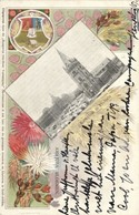 South Africa, PRETORIA, Church Square, Amajuba Flowers (1902) Postcard - South Africa