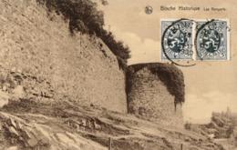 BELGIQUE - HAINAUT - BINCHE - Les Remparts (Binche Historique). - Binche