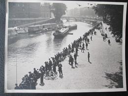 Reportage Photo Concours De Peche En Seine Avant Guerre 1er Juillet 1934 Dim 18cm X 24cm TB - Personnes Anonymes