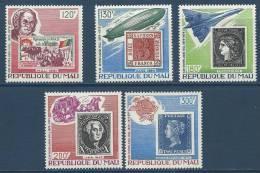 """Mali YT 330 à 334 """" Sir Rowland Hill """" 1979 Neuf** - Mali (1959-...)"""