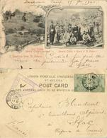 St. Helena, Deadwood POW Camp BOER WAR 1901 Sent By Prisoner 3446 Le Gall Censor - Other Wars