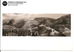 L15H027 - Marseille Provence 2013 - Capitale Europ. De La Culture - Vestiges 1991-2012 - Koudelka - Vieille Charité - Publicités