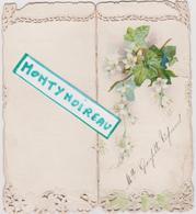 Vieux  Papier : Menu : 1907  A  Drouin  Pâtissier  La  Ferté  Gaucher  , Mariage - Menus