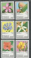 CONGO Scott 1109-1114 Yvert 1026G-1026M (6) ** Cote 8,75 $ 1996 - Congo - Brazzaville