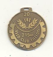 Médaille  - TILFF - BASTOGNE - TILFF 1991 20e édition  - Cyclotourisme, Cycliste, Vélo  (b241) - Cyclisme