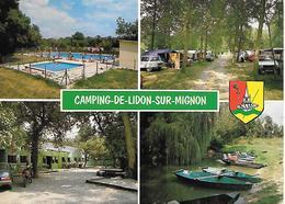 CPA-1960-79-LINDON Sur MIGNON-Le CAMPING -MULTIVUES-TBE - Frankreich