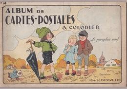 """Album De Cartes Postales à Colorier Pour Enfants """"Le Parapluie Neuf"""" Dessins De  Roméo Dumoulin,édition PHOB - Livres, BD, Revues"""