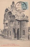 BARCELONA, Parque Güel-Porteria, Karte Gelaufen Um 1921, Sehr Guter Zustand - Barcelona