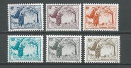 CONGO Scott 1115-1120 Yvert 1012-1017 (6) ** Cote 59,00 ? $ 1996 - Congo - Brazzaville