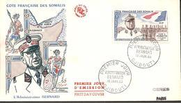 F.D.C. DJIBOUTI  P.A. N°27 1960  PARFAIT ETAT - Djibouti (1977-...)
